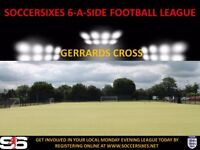 BRAND NEW 6ASIDE LEAGUE IN GERRARDS CROSS (CREATE YOUR OWN TEAM AND JOIN UP)
