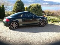Audi TT Coupe Quattro, (225 BHP) very good condition, full service history, MOT'd till April 2017