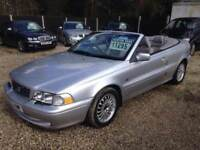 ** NEWTON CARS ** 03 53 VOLVO C70 2.0 20V CONVERTIBLE, ELECTRIC ROOF, GOOD COND, MOT MAY 2019