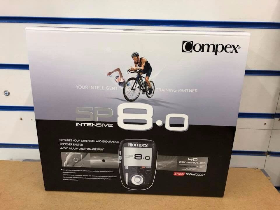 COMPEX SP 8.0 WIRELESS MUSCLE STIMULATOR BRAND NEW WITH WARRANTY AND RECEIPT