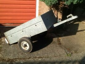 Trailer .Galvanized excellent condition