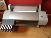 Epson 7600 Printer plus a spare one handy for spares.