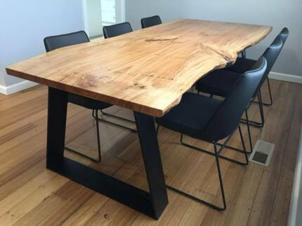 Live edge dining tables from $6000