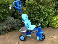 ToysRUs toddler trike with removable parent handle