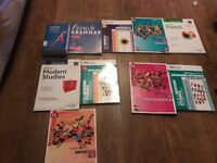 national 5 study books french modern studies maths can post