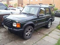 landrover discovery td5 with long mot 7 seater