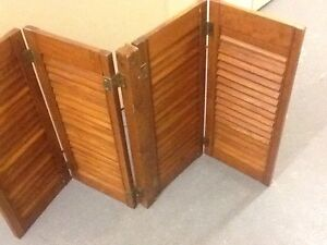 Quality solid wood Windows Shutters-12x2-75$ each pair