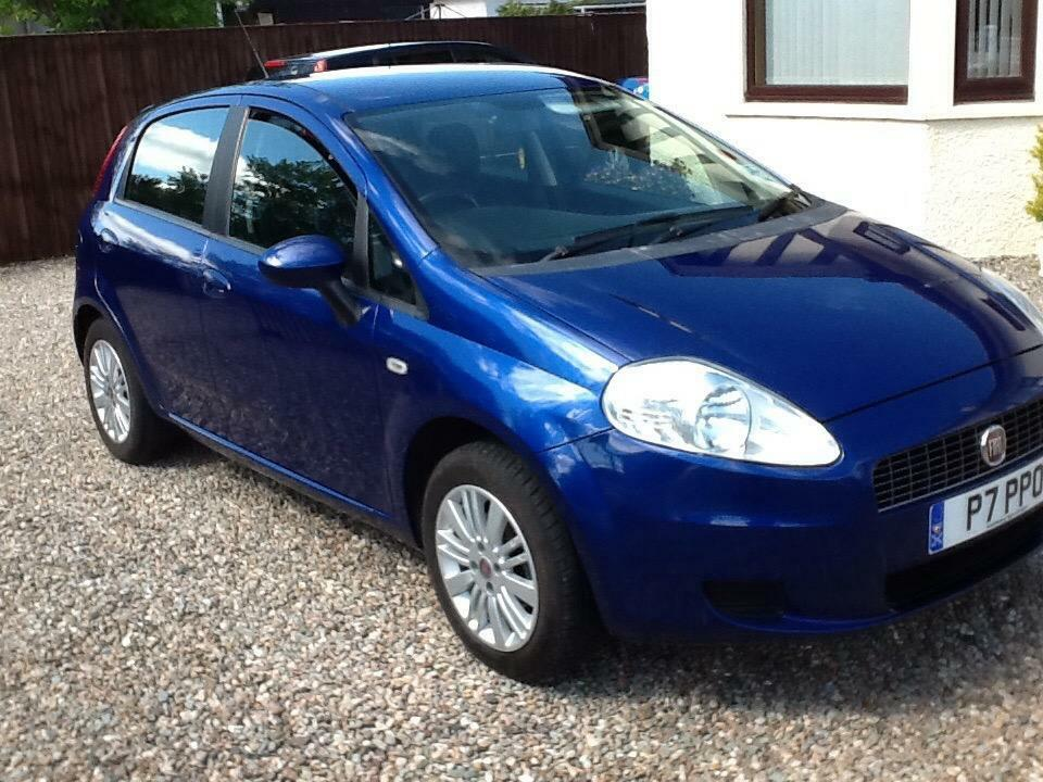 2008 fiat grande punto 1 3 multijet diesel in perth perth and kinross gumtree. Black Bedroom Furniture Sets. Home Design Ideas