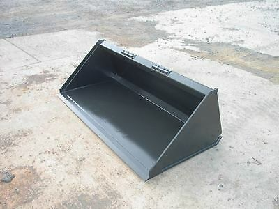 New 5 60low Profile Pro Utility Bucket Skid Steer Loader Bobcatcatmustang