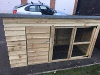 brand new dog kennel/run for sale