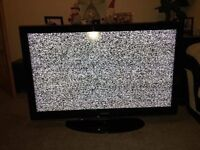 "Faulty 46"" 1080p Flat Screen TV"