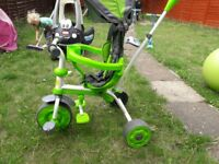 Baby Trike (steering handlebar)) .Mint condition