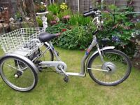 Adult Electric trike with new battery fitted