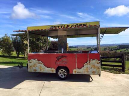 Fully Self contained and equipped Popcorn Trailer