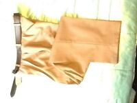 MENS formal trousers with belt