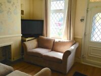 2 bedroom part-furnished house to rent in Crayford, garden, 2 lounges, 2 double rooms!