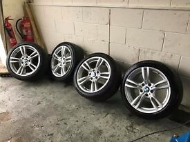 Genuine BMW 400M M Sport 18 inch wheels