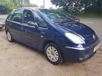 55 PLATE CITROEN PICASSO 1.6 IDEAL CHEAP FAMILY CAR LOADS OF ROOM