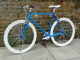 Brand new single speed fixed gear fixie bike/ road bike/ bicycles + 1year warranty & service 85ab