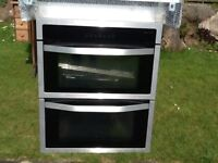 Double oven built in or under(integrated from John Lewis)