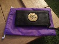 Darius Style Black Leather Clutch Bag