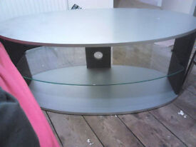 Silver used TV Stand £10 or nearest offer