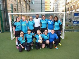 FRIENDLY LADIES FOOTBALL TEAM SEEKING NEW PLAYERS OF ALL ABILITIES