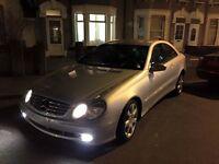 Mercedes Benz CLK 2.7CDI 2005 LEFT HAND DRIVE LHD