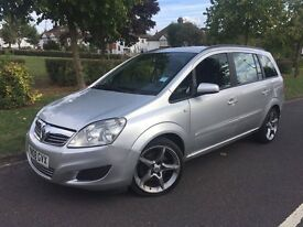 Vauxhall Zafira 1.9 CDTi Exclusiv 5dr SALE PRICE MUST SELL