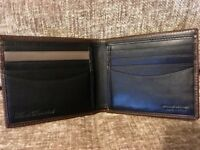 Genuine Paul Smith Brown Leather Wallet