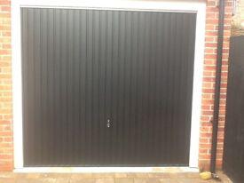 Hormann retractable garage door