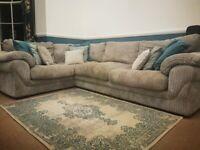 L-shape sofa (Furniture Village)