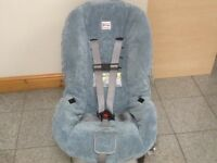 Britax MARATHON group 0+1 2 car seat for upto 30kg(average 7/8 yr olds-checked,washed&cleaned