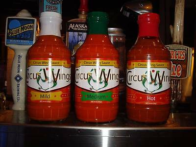 Worlds Best Chicken Hot Wing Sauce Circus Sports Bar sells 17 tons of wings
