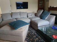 L-SHAPE DYLAN SHERLAND FABRIC (Corner & 3+2 Seated Sofa)
