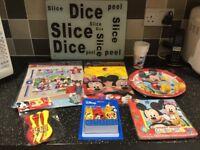 Brand New Disney Mickey Mouse Birthday Set