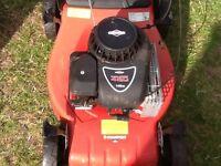 Champion push petrol lawn mower CR484PB
