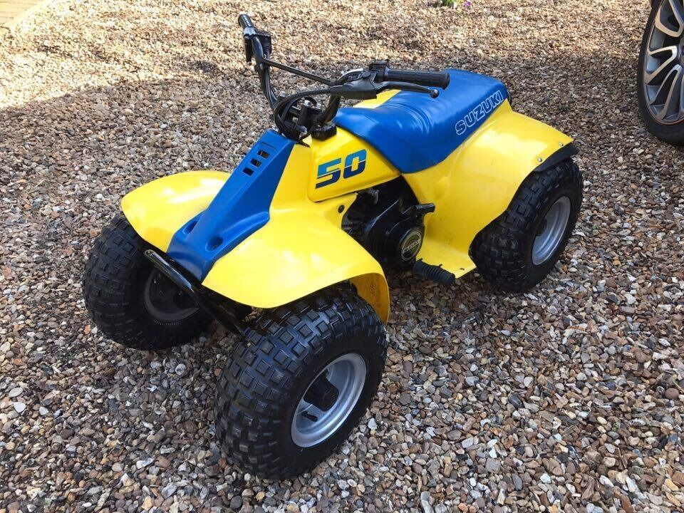 SUZUKI LT50 50CC CHILDS QUAD BIKE / ATV IN GOOD CONDITION NOT PW50