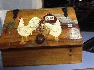 Chickens roosters hens farmhouse collectables Jimboomba Logan Area Preview