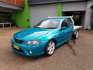 2007 Ford Falcon BF MKII XR6 4.0L 6 CYL C/Chassis Ute - AUTO