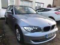 2009 BMW 1 SERIES 118D DIESEL QUICKSALE