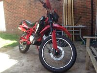 Custom LF GY 125cc 2010 Leaner Legal On Or Off Road Crosser Brand New Mot Loads Of Extra's
