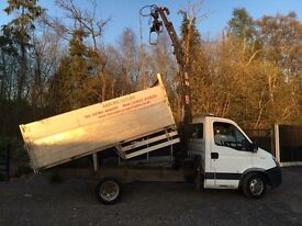 Iveco daily hiab tipper 3.5 ton