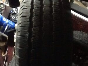 225/65R17 MICHELIN winter tires good condition