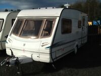2002 abbey GTS vogue 416/4 berth end changing room with fitted mover