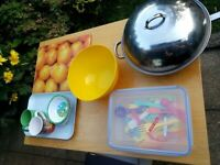 House Clearance NEW FRYING WOK AND MORE