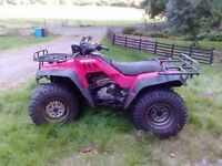 honda trx 350 quad bike
