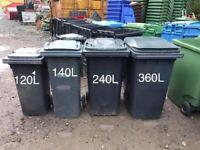 Wheelie bins - used good condition