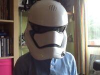 Star Wars stormtrooper voice altering helmet