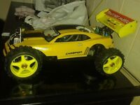 A PROTECH PHASER 4 rs NITRO BUGGY 1/8th SIZE ** RTR **
